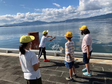 10月14日 5年生琵琶湖博物館へ