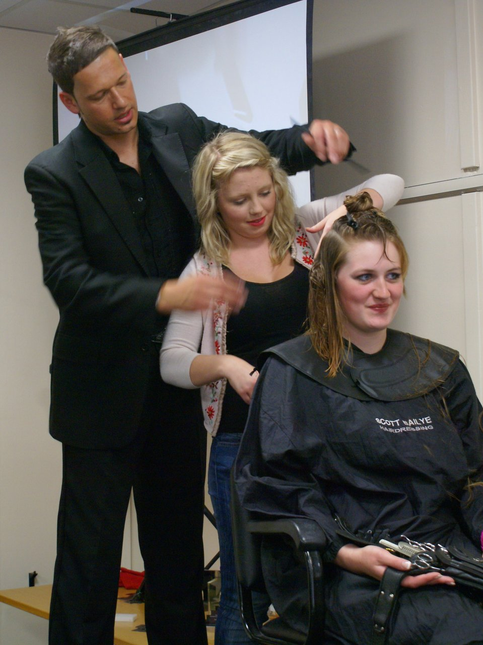 At Scott Bailye Hairdressing