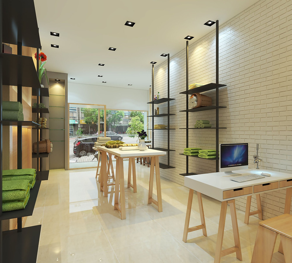 生活用品店面設計   室內裝潢設計