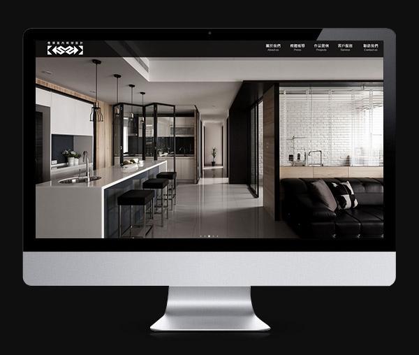 橙碩室內設計 企業形象網站