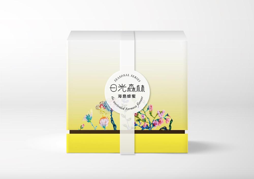 日光森林 蜂蜜禮盒 包裝設計
