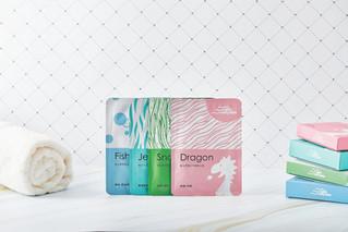 JellyJelly 顏值計畫 面膜品牌識別設計 | 包裝設計