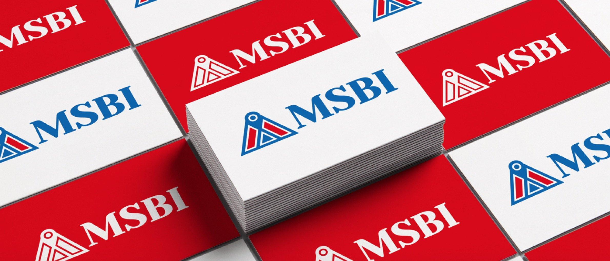 MSBI 醫療系統 LOGO設計