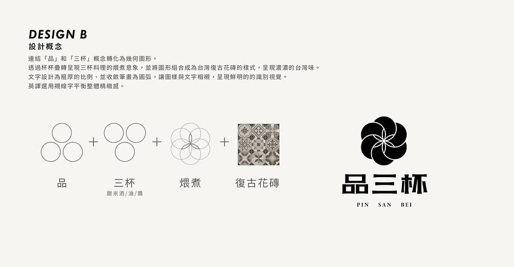 「品三杯」品牌形象規劃 | LOGO設計 | 品牌設計