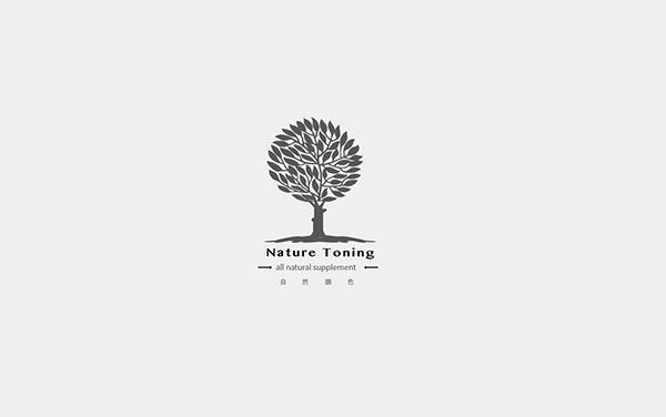 自然調色:美容保養產業商標設計