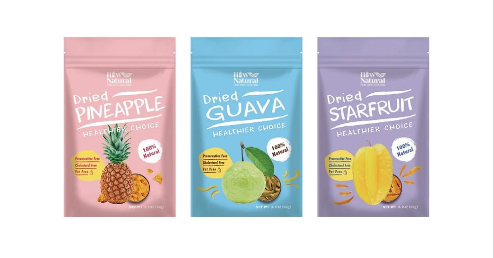 好鮮甜 外銷果乾品牌 | LOGO設計、包裝設計