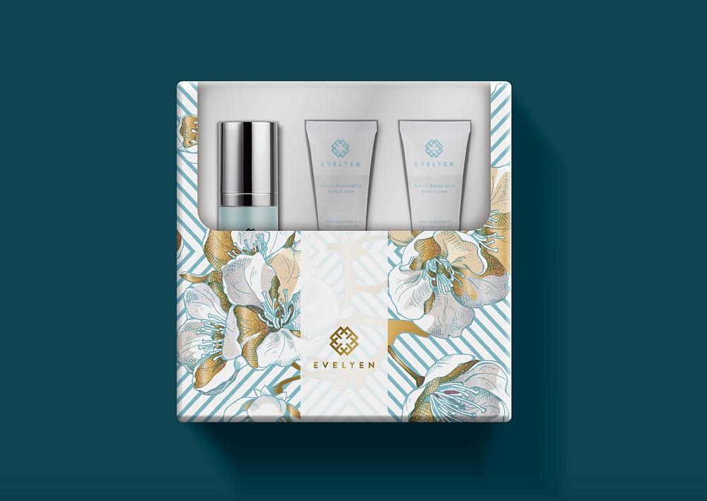 包裝設計 保養品 禮盒設計