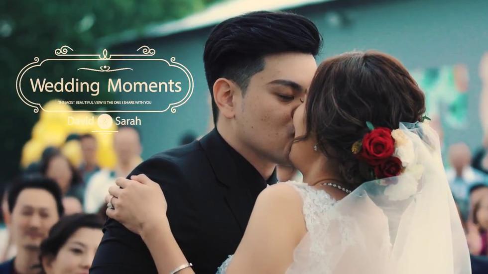 David & Sarah 婚禮紀錄