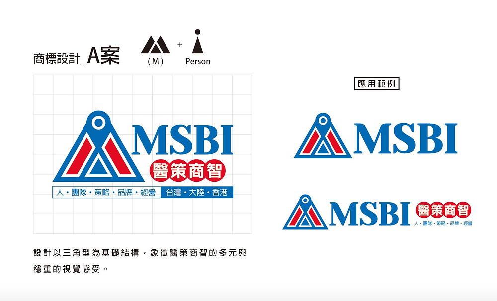 中國大陸 醫策商智 MSBI | 商標LOGO設計