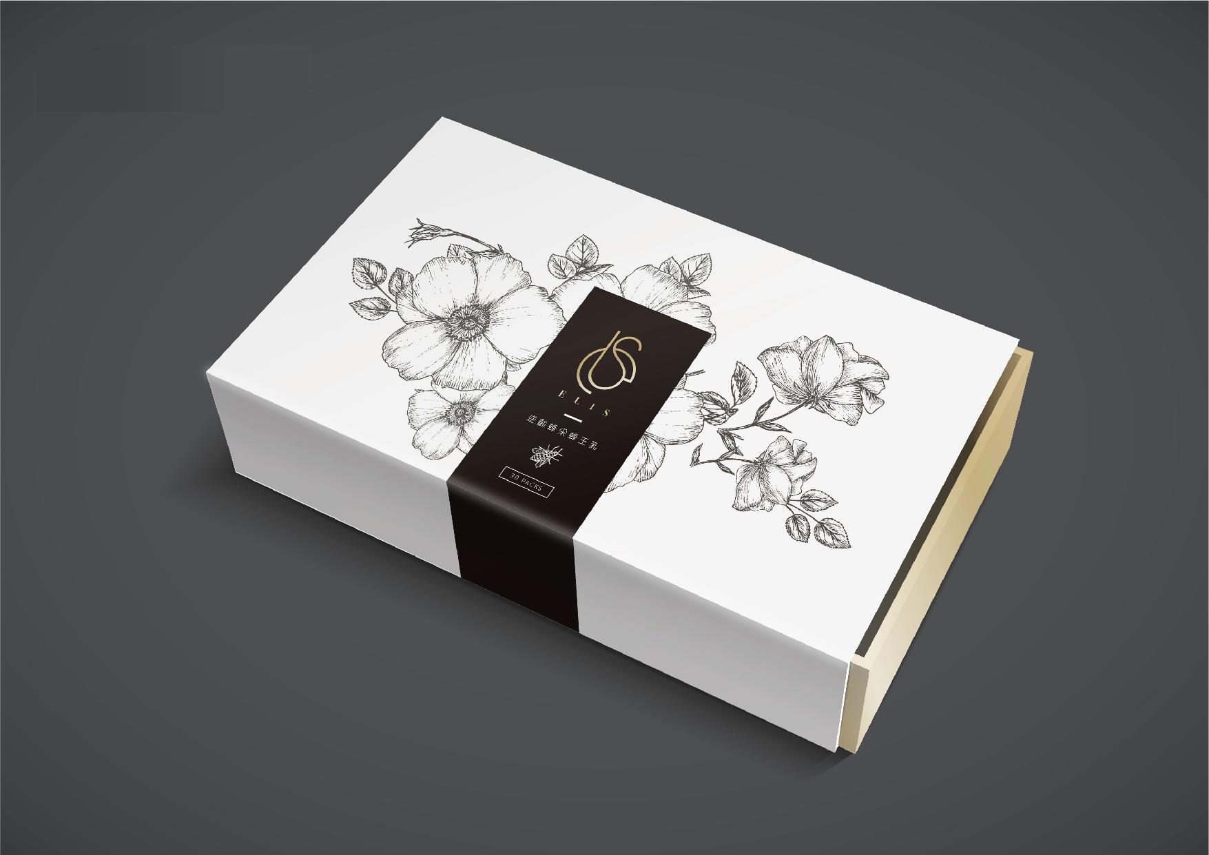 ELIS蜂王乳品牌設計、包裝設計