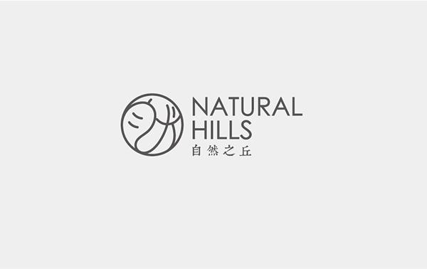 Natural Hills自然之丘:天然有機保養品LOGO