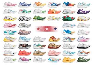 愛迪達為美國50個州都設計了專屬跑鞋,你喜歡哪個州的?(上)