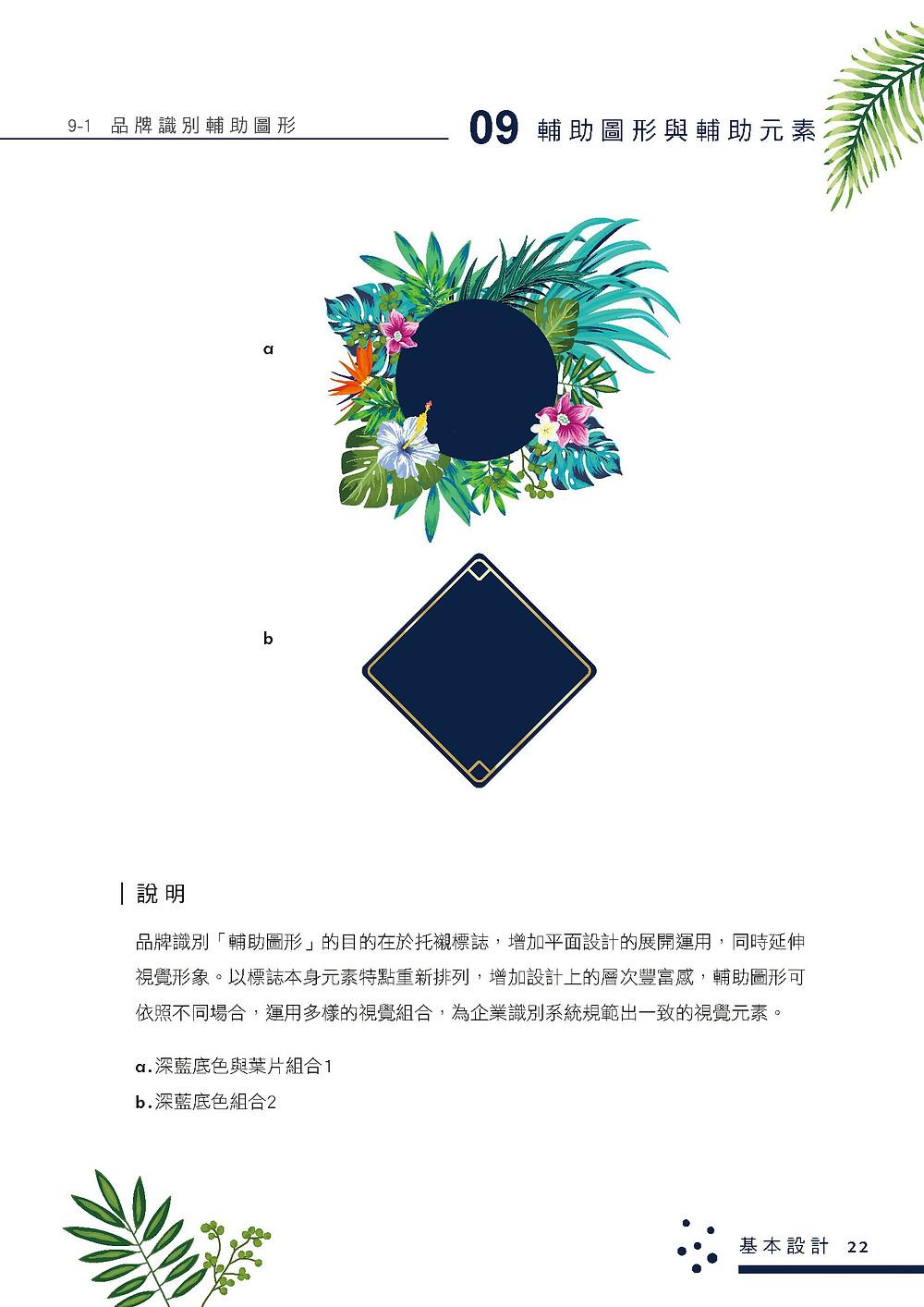 萃萃泡沫茶坊 品牌識別系統手冊 輔助圖形