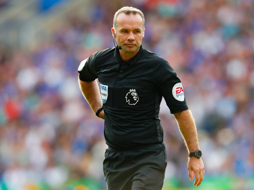 Paul Tierney appointed as referee for Liverpool vs Manchester City