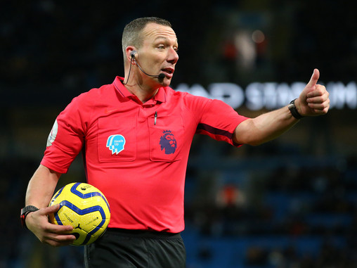 Kevin Friend appointed referee for Manchester City's trip to Brighton