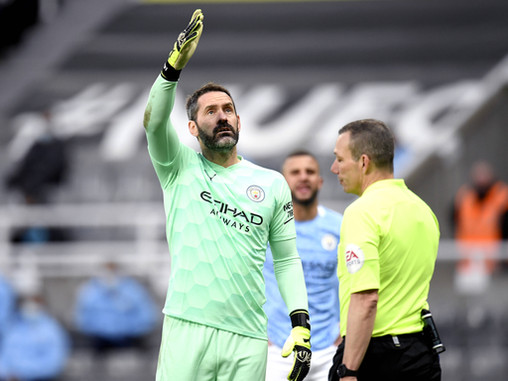 No Ederson and no Zack Steffen for Man City this weekend, you know what that means...