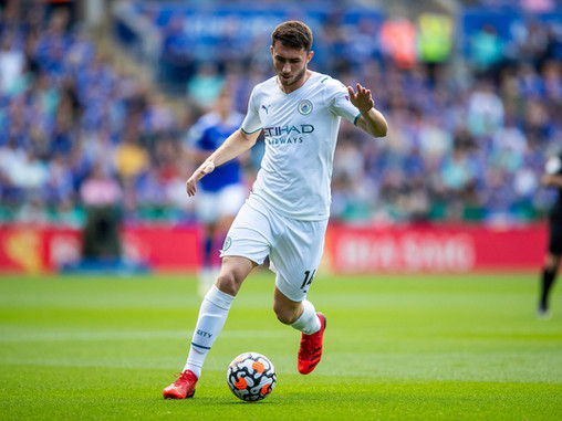 John Stones and Aymeric Laporte to miss Manchester City's trips to Chelsea, PSG and Liverpool