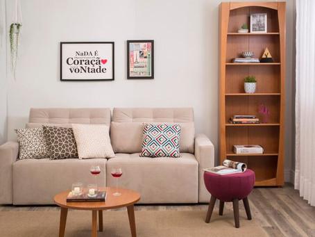 Ideias para uma decoração de sala simples e barata