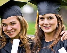 Meninas de graduação
