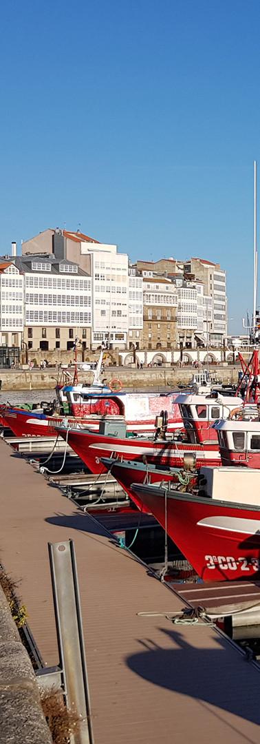 Puerto de Coruña