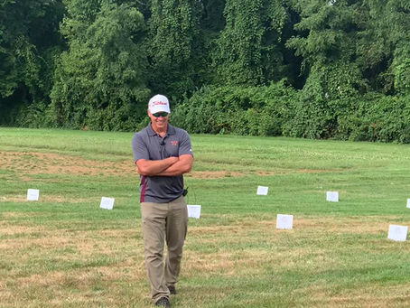 """Virginia Tech's Dr. Kuhar & Dr.  McCall talk """"Army Worms"""" at the Blacksburg Field Day 8/31/21."""