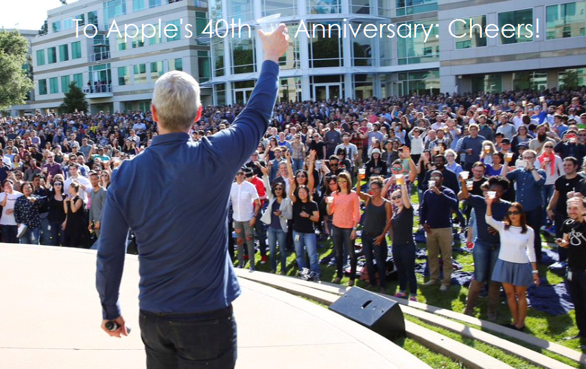 Beer Bashes khen thưởng nhân viên hàng năm tại Apple | EveHR