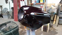77 R100S Custom Fairing