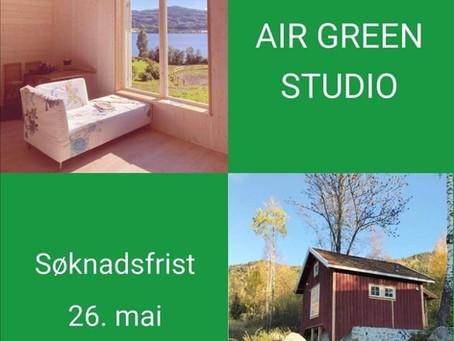 Utlysning av nytt kunstneropphold: AiR Studio Green, høst 2021!