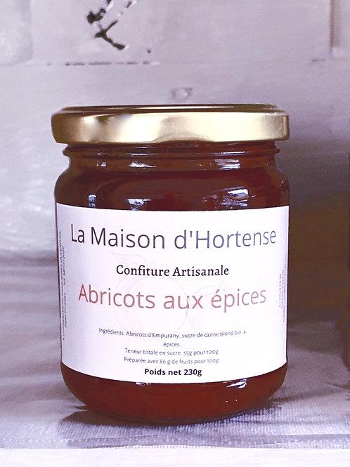 Confiture d'Abricots aux épices