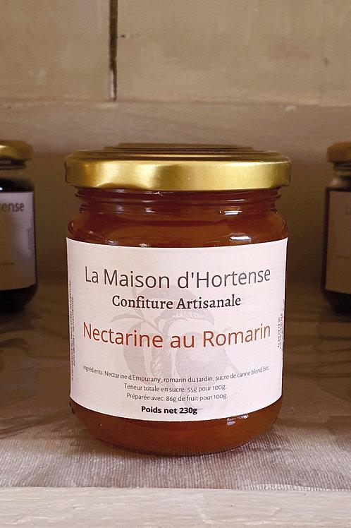 Confiture de Nectarine au Romarin