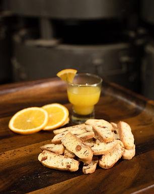 Orange Apricot Biscotti