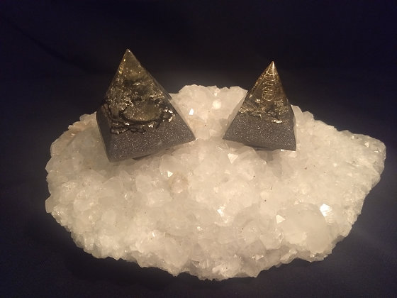 Clear Quartz Orgone 2 Pack