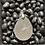 Thumbnail: Amethyst Teardrop Pendant