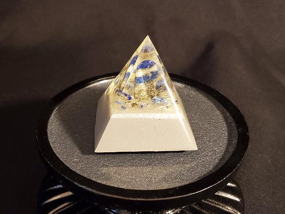 Lapis Lazuli Mini Orgone Pyramid