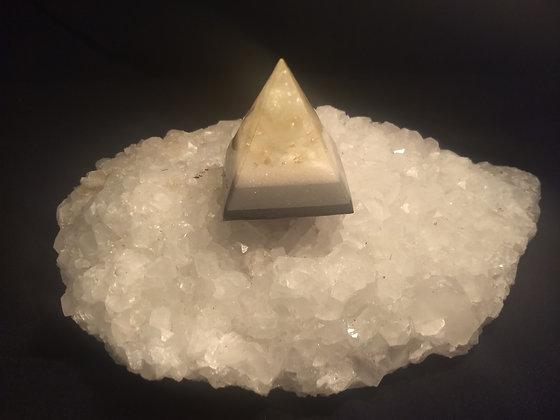 Green Calcite Mini Orgone Pyramid