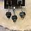 Thumbnail: Sulfur Crystal w/Obsidian Orgone Pendant & Earrings