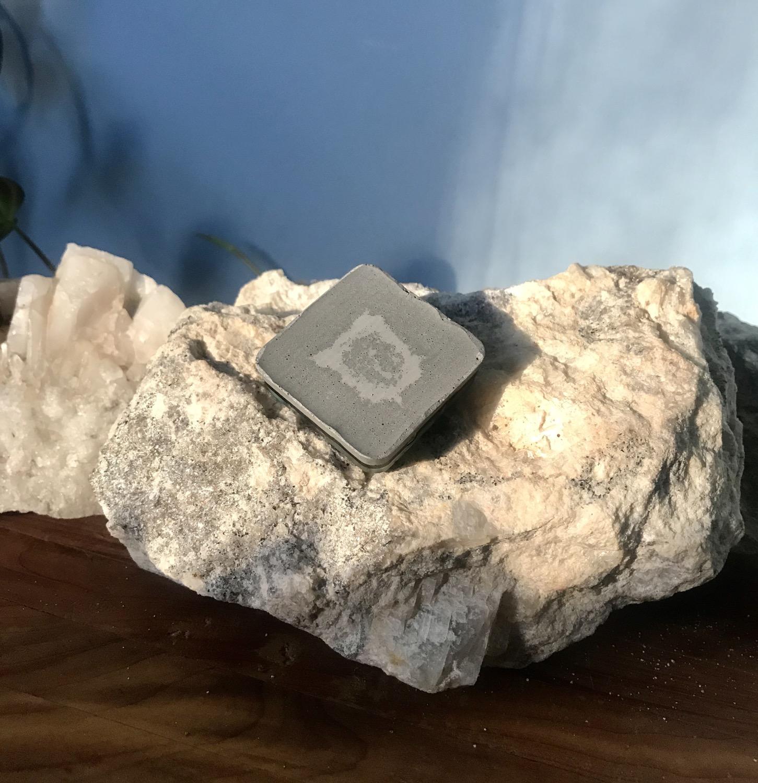 Thumbnail: Amazonite on Aluminum Pocket Orgone