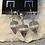 """Thumbnail: Amethyst """"Diamond"""" Pendant & Earrings"""