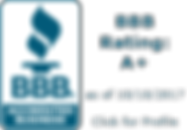 BBB Accredited Businesses Rating A+