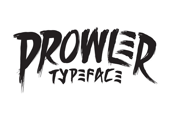 Prowler Typeface Commercial License