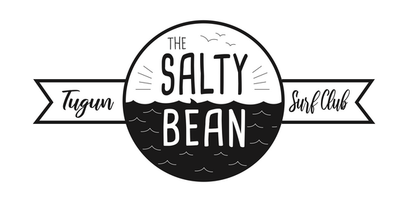The Salty Bean Logo and Signage