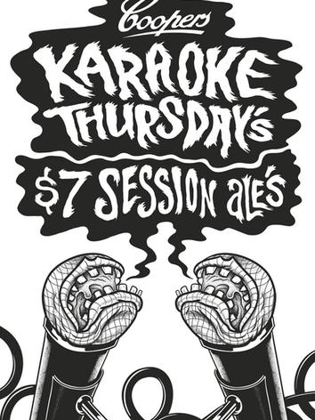 Karaoke Thursdays Roll Out Banner
