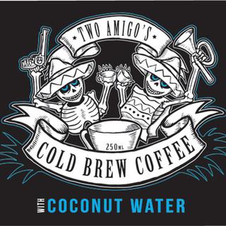 Two Amigo's Cold Press Coffee Logo