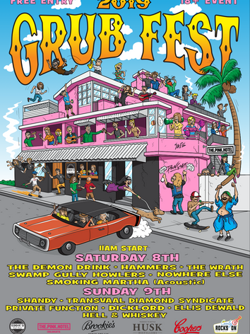 Eddie's 2019 Grub Fest Poster