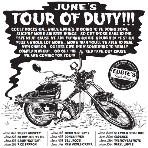 Eddie's Tour Of Duty June Poster