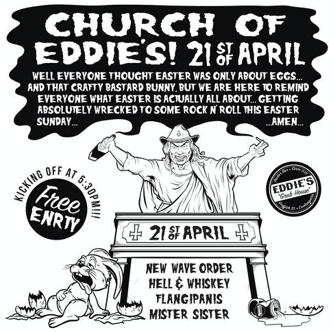 Church Of Eddie's Poster