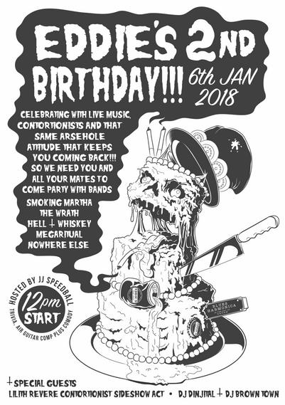 Eddie's 2nd Birthday Poster