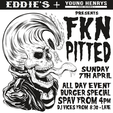 Eddie's FKN Pitted Poster