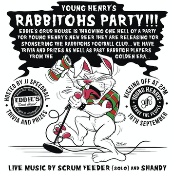 Young Henry's & Eddie's Rabbitohs Party