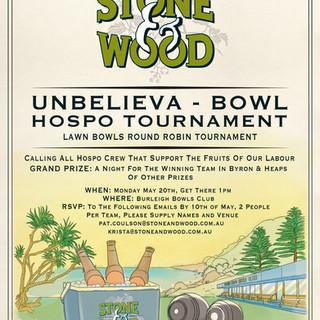 Stone & Wood Poster Design